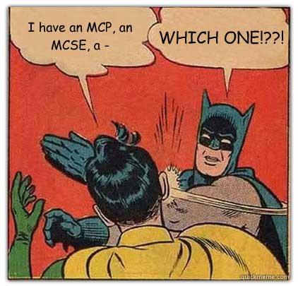 new mcse