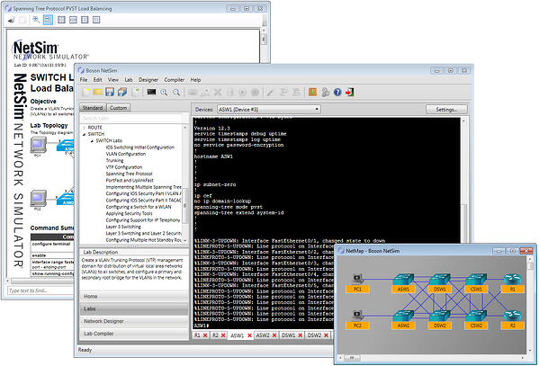 lab instructions and netmap separated