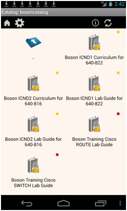 how to activate and use boson s digital ccna courseware rh blog boson com Boston Red Sox Boson NetSim