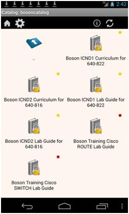 ccna curriculum catalog