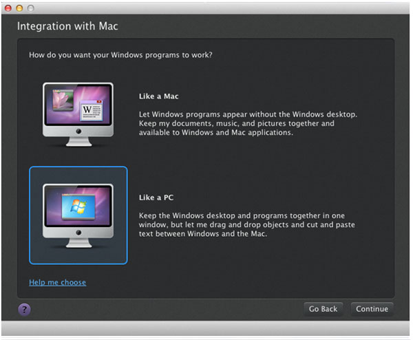 integration with mac dot net quest 3